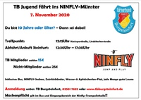 Ninfly-Fahrt 07. November 2020