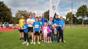 Youngsterleichtathleten des TBB in Mettingen super!