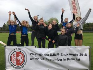 Erfolgreiche Teilnahmen an den Westfälischen Mannschaftsmeisterschaften in Kreuztal