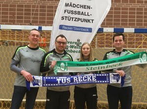 Neues Trainerteam für die U17 des TuS Recke/GW Steinbeck