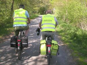 Radwanderer starten erste Ausfahrten