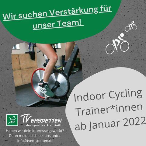 TVE Indoor Cycling Trainer gesucht
