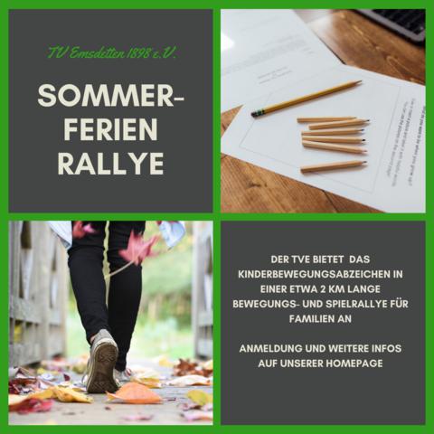 TVE Sommerferien Rallye